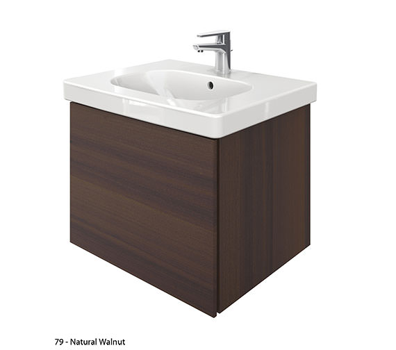 Alternate image of Duravit Delos 1 Compartment Unit With D-Code 650mm Basin