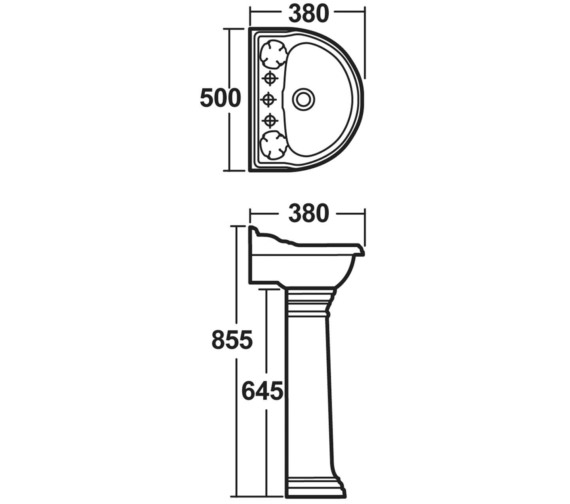 Technical drawing QS-V17074 / BEO-2010