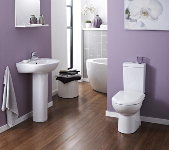 Premier Pick And Mix 620mm Compact Pan And Cistern With Fittings
