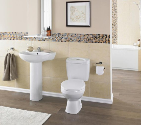 Nuie Melbourne Close Coupled WC Set 630mm