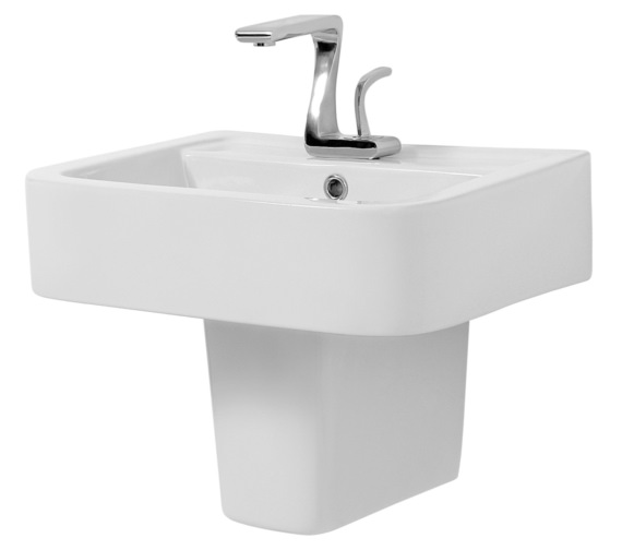 Phoenix Mac Q 570mm Basin And Semi Pedestal