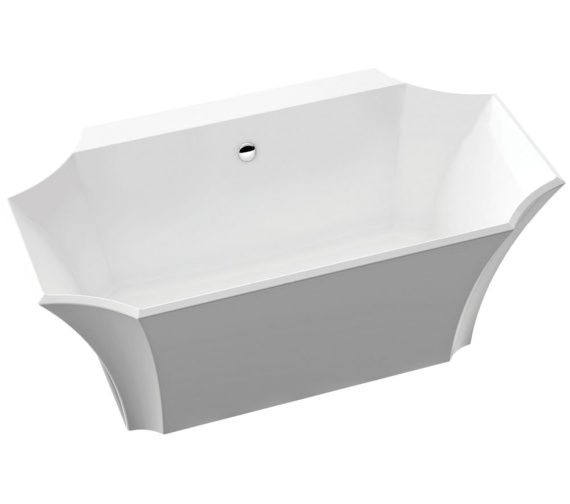 Bauhaus Waldorf Back To Wall Bath 1645 x 895mm