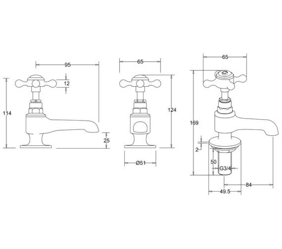 Technical drawing QS-V13467 / STA13