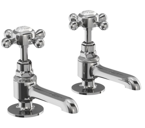 Burlington Stafford Long Nose Basin Pillar Taps