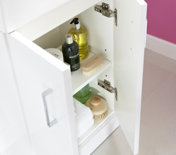 Additional image of Lauren Checkers 460mm Floor Standing Cabinet And Basin