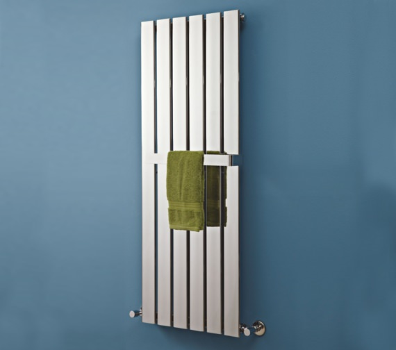 Additional image of Phoenix Orla 1600mm Height Vertical Designer Radiator Chrome