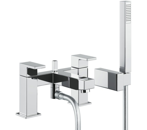 Abode Cento Deck Mounted Bath Shower Mixer Tap