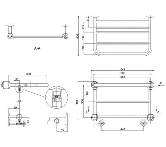 Technical drawing QS-V13472 / R11 CHR