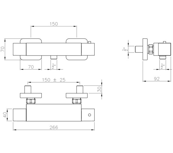 Technical drawing QS-V8531 / AB2111