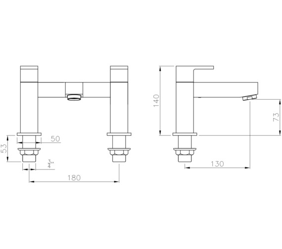 Technical drawing QS-V8532 / AB4025