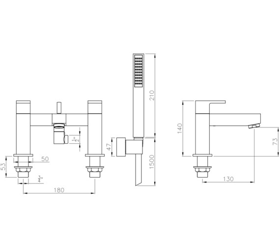Technical drawing QS-V8533 / AB4026