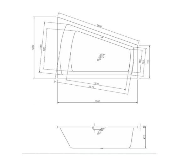 Technical drawing QS-V81378 / BH001