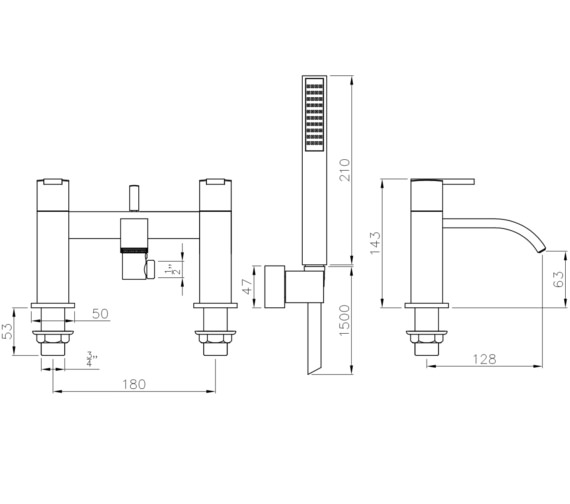 Technical drawing QS-V8549 / AB4054