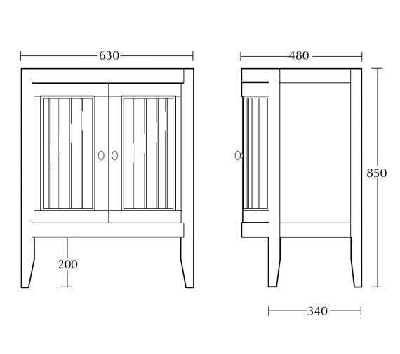 Technical drawing QS-V16464 / XG32000042
