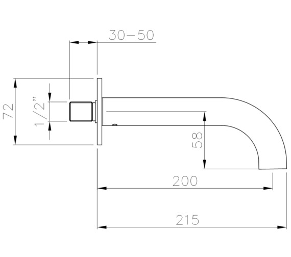 Technical drawing QS-V8543 / AB4045