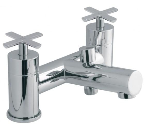 Vado Tonic Deck Mounted 2 Hole Bath Shower Mixer Tap