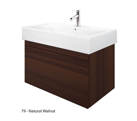 Alternate image of Duravit Delos 1 Compartment White Matt Unit With Vero 800mm Basin