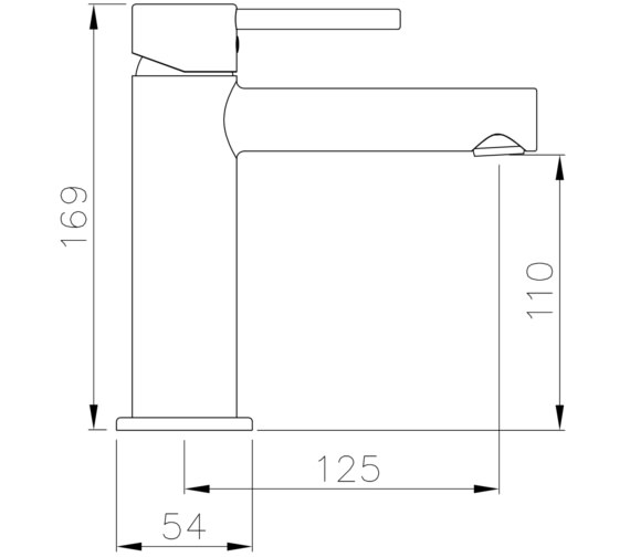 Technical drawing QS-V8565 / AB4120