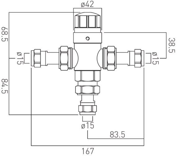 Technical drawing QS-V37049 / PRO-5001-N/P