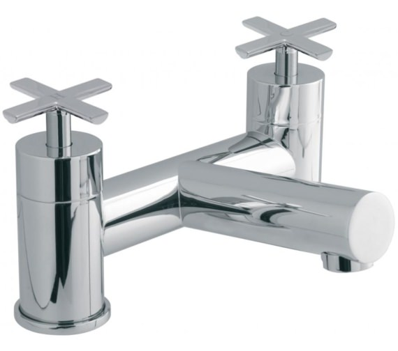 Vado Tonic Deck Mounted 2 Hole Bath Filler Tap