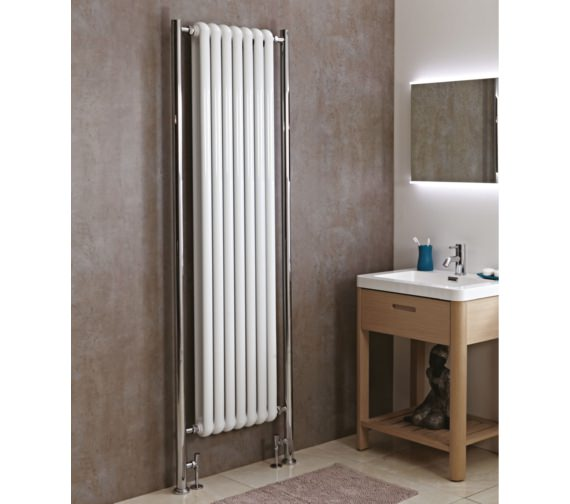 Phoenix Lilly Plus 587 x 2018mm Floor Mounted Radiator White