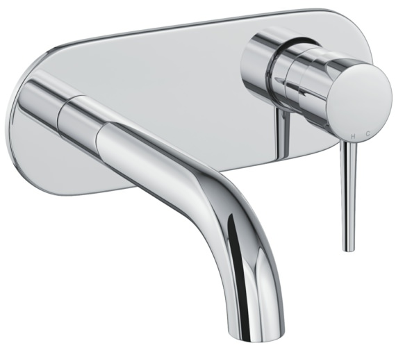 Abode Chao Wall Mounted Basin Mixer Tap