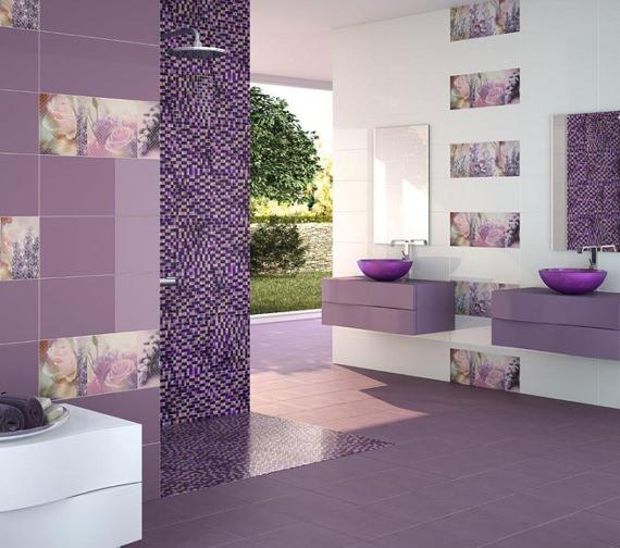 Alternate image of Beo Redondo 420mm Round Countertop Purple Basin