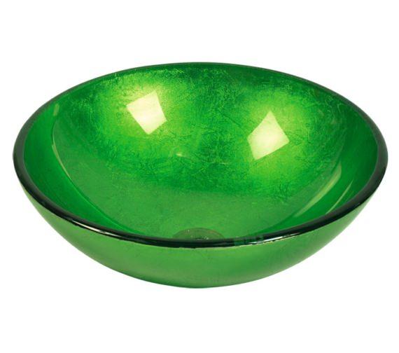 Beo Redondo 420mm Round Countertop Green Basin