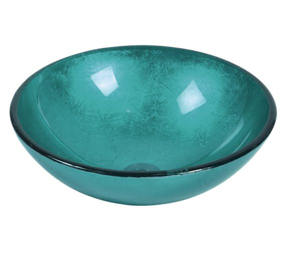 Beo Redondo 420mm Round Countertop Blue Basin