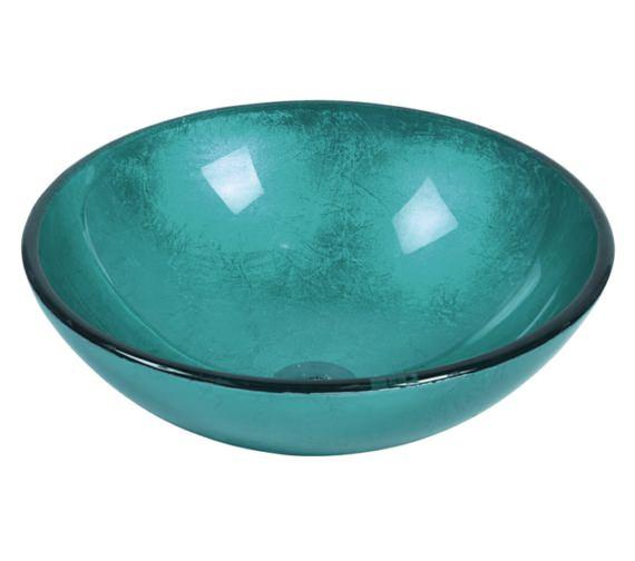 Beo Redondo 420mm Round Countertop Blue Basin