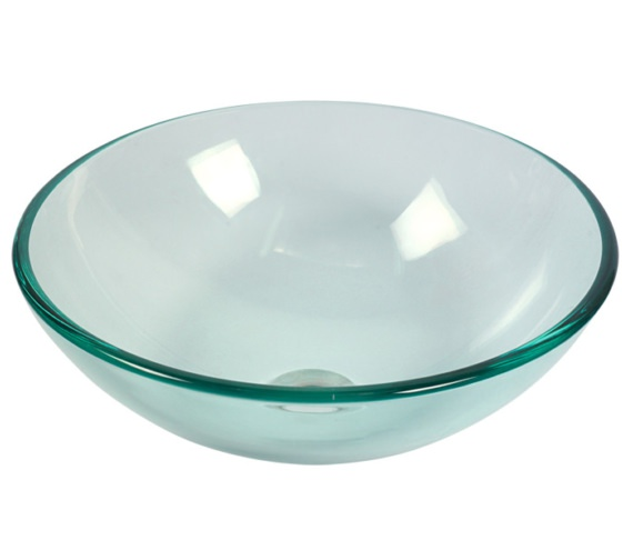 Beo Redondo 420mm Round Countertop Transparent Basin