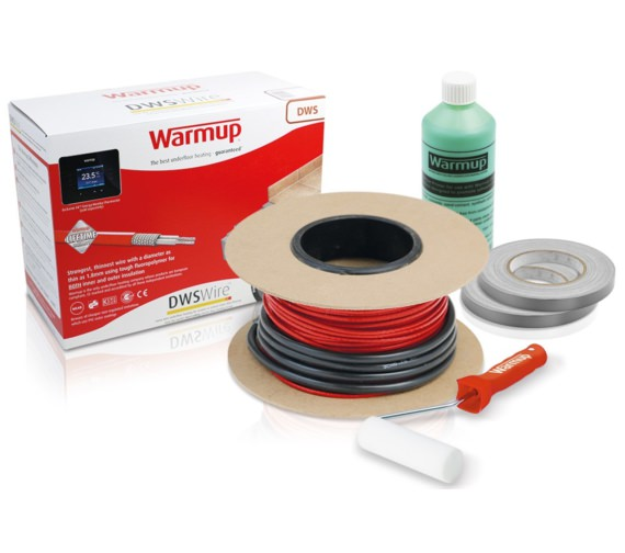 Warmup Loose Wire Underfloor Heating Electric System