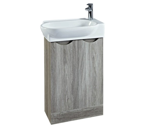 Phoenix Boston 570mm Vanity Unit And Basin Avola