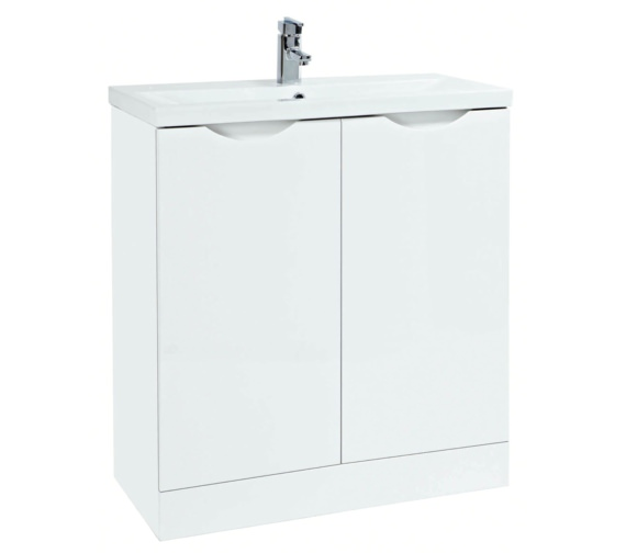 Phoenix Amari 810mm Vanity Unit With Basin White