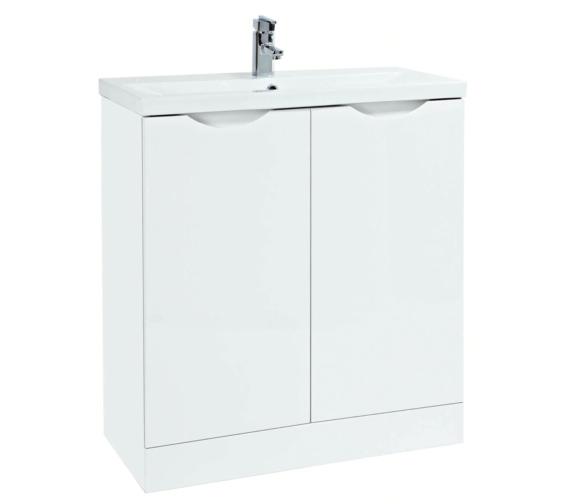 Phoenix Amari 810mm Vanity Unit With Basin White