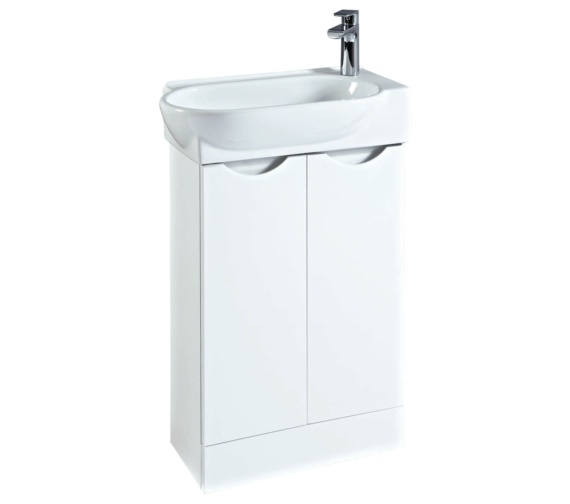 Phoenix Boston 570mm Vanity Unit And Basin White