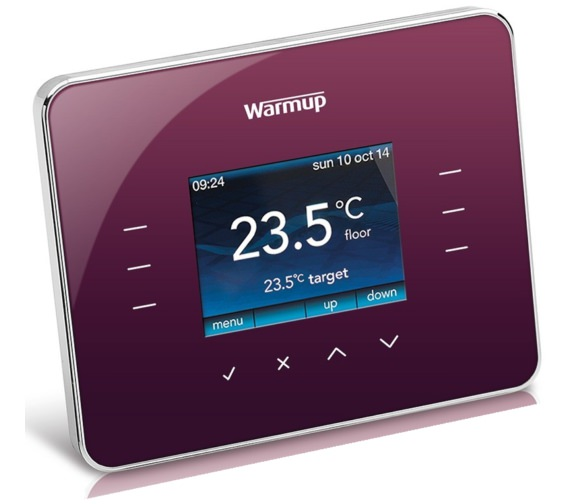 Warmup 3iE Programmable Warm Berry Finish Thermostat