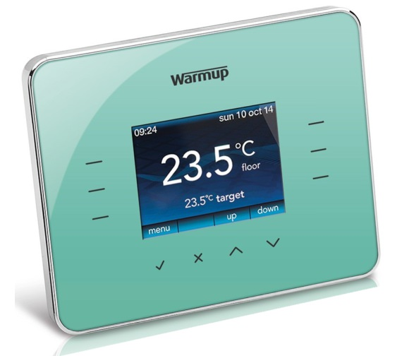 Warmup 3iE Programmable Madison Blue Finish Thermostat
