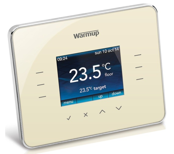 Warmup 3iE Programmable Classic Cream Finish Thermostat