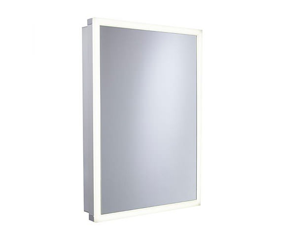 Tavistock Nook 500 x 700mm Single Door Mirror Cabinet