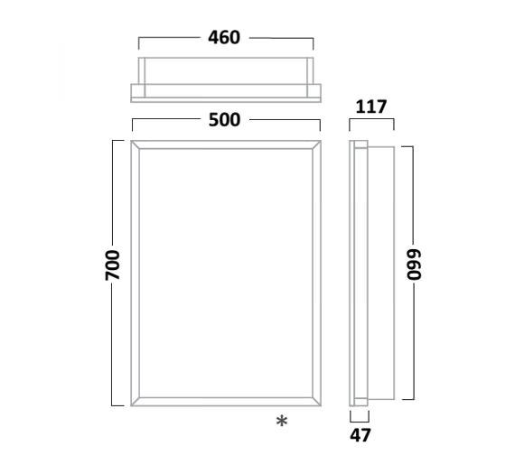 Technical drawing QS-V16531 / NO50AL