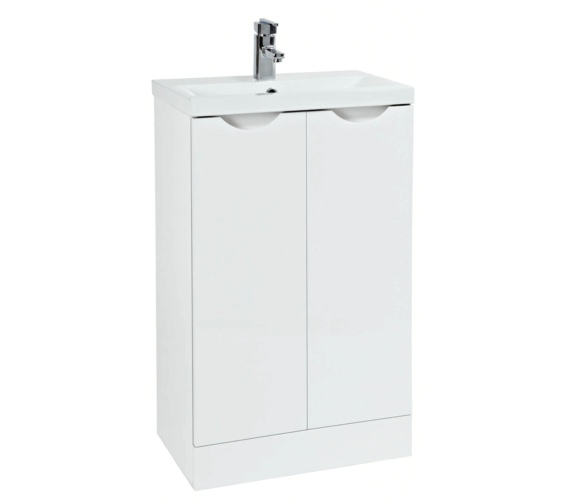 Phoenix Amari 510mm Vanity Unit With Basin White