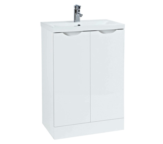 Phoenix Amari Vanity 610mm Unit With Basin White