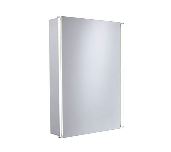 Tavistock Sleek 440mm Single Mirror Door Cabinet With LED Lighting