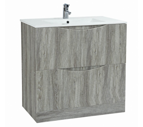 Phoenix Malmo 900mm Floor Standing Avola Unit With Basin