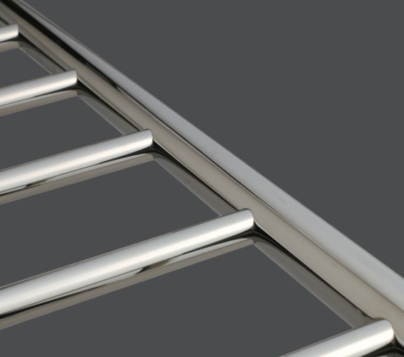 Alternate image of Warmup Curved 600 x 800mm Heated Electric Towel Rail