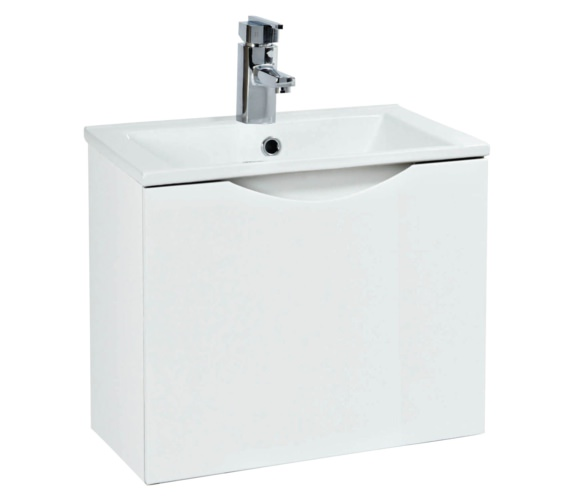 Phoenix Malmo 400mm Wall Mounted White Unit With Basin