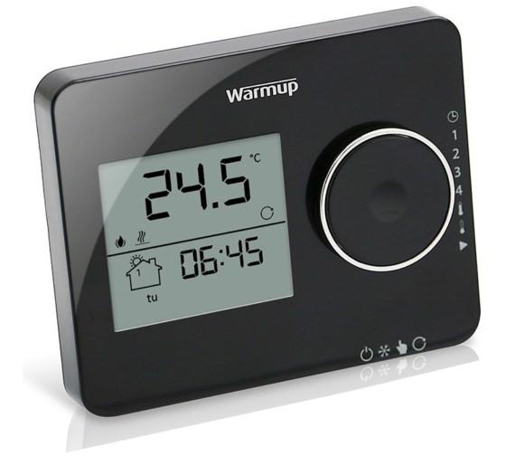Warmup Tempo Programmable Piano Black Finish Thermostat