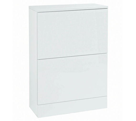 Phoenix 550mm Back To Wall Unit White