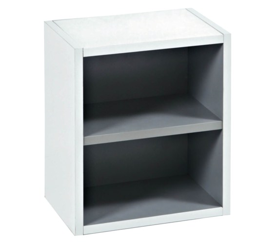 Phoenix 350mm Open Storage Unit White